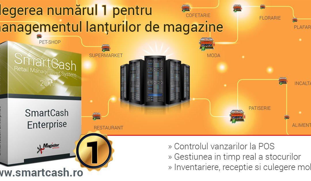 Cum sa-ti dezvolti reteaua de magazine cu SmartCash Enterprise