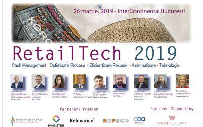 RetailTech 2019 – sinergii intre performanta si inovatie in tehnologia pentru retail