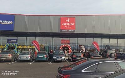 Primul magazin tip Agroland MEGA in Sibiu