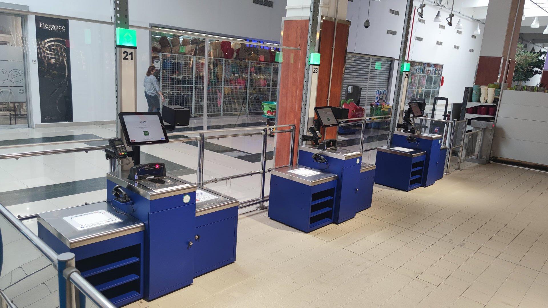 Magister Self Checkout Remarkt Oradea